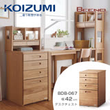 【KOIZUMI】BEENO四抽活動櫃BDB-067‧幅42cm