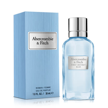 Abercrombie & Fitch 湛蓝女性淡香精(30ml)