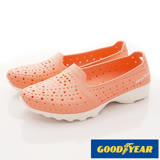GOODYEAR-戶外休閒鞋-輕量美型洞洞休閒款-WP82823粉桔-(22-25.5cm)