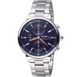 SEIKO精工CS系列時尚計時腕錶  SNDV21P1 7T92-0VN0B