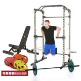 【BLADEZ】360KG鐵人多功能重量訓練超值組-2810Plus