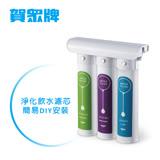 [賀眾牌] 簡易式DIY淨水器UP-310