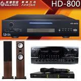 【美華 Kalatech】HD-800 點歌機  2TB+BT-889 PRO擴大機+OK-9D II無線麥克風+Mercury 7.4