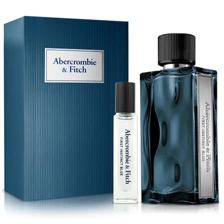 Abercrombie & Fitch 湛蓝男性淡香水礼盒(淡香水100ml+淡香水15ml)