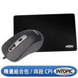 INTOPIC 廣鼎 飛碟光學滑鼠組(MSP-097)