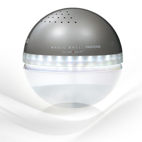 antibac2K 安體百克空氣洗淨機【Magic Ball。Pantone系列 L尺寸/ GRAY BEIGE】