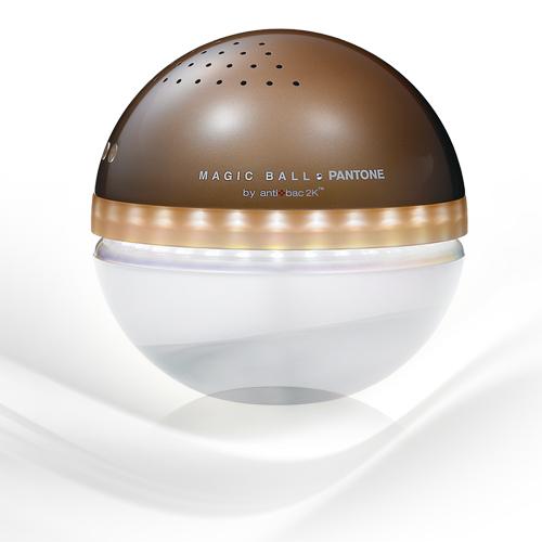 antibac2K 安體百克空氣洗淨機【Magic Ball。Pantone系列 L尺寸/ COCOA BROWN】