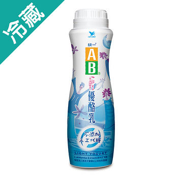 统一AB轻优酪乳900ML/瓶