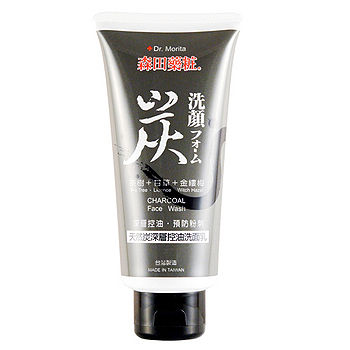 森田藥妝炭深層控油洗面乳120g