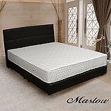 【Maslow-時尚皮製】加大床組-6尺(不含床墊)-黑