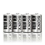 【SONY】2號碳鋅電池(20顆裝)