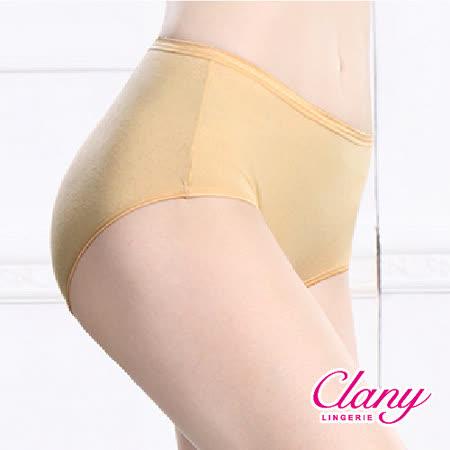 【可蘭霓Clany】親膚棉柔中腰M-Q(2XL)內褲 春漾膚 2161-11