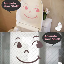 【ORIENTAL創意壁貼】Smile comic
