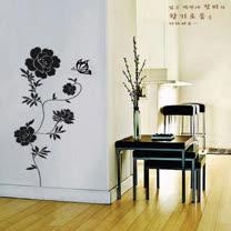 【ORIENTAL創意壁貼】Rose garden