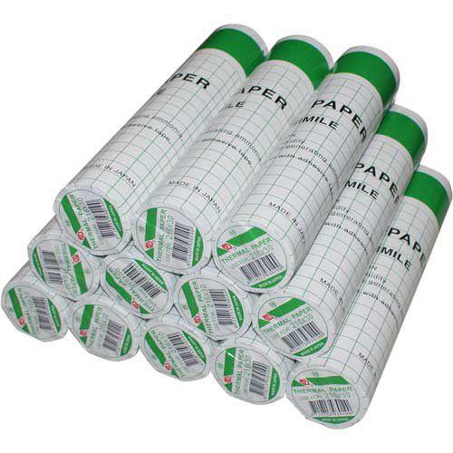 傳真機 感熱紙 216mm x 30m x 0.5A (12入)