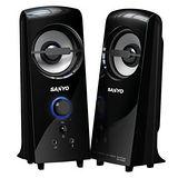 SANYO三洋2.0聲道多媒體電腦喇叭-雷之音(SYSP-927)