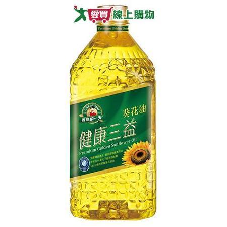 得意的一天三益葵花油1.58L