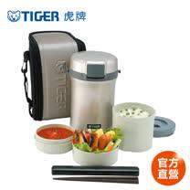 【TIGER 虎牌】4碗飯_不鏽鋼保溫飯盒 (LWU-B200)