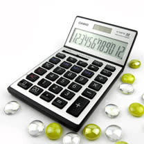 【CASIO】卡西歐(飛炫銀)金融稅額計算機AEE-JS120TVSs