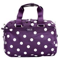 agnes b. 點點旅行袋(小/紫)