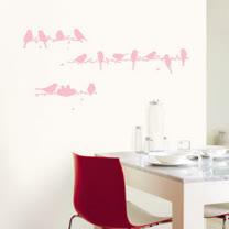 【現代壁貼】小鳥家族