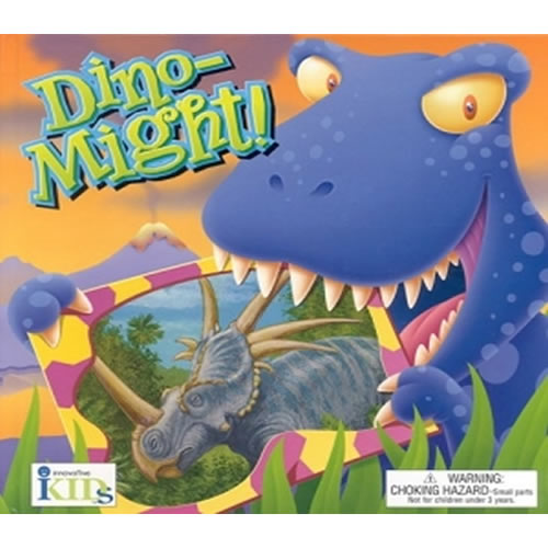 Dino~Might  Groovy Tube Book