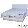 【Maslow-晶鑽純白】加大掀床組-6尺(不含床墊)