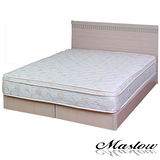 【Maslow-樂活白橡】雙人床組-5尺(不含床墊)