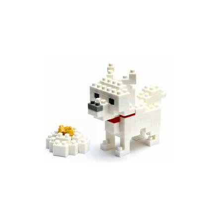 (任選)《Nano Block迷你積木》【可愛動物系列】NBC-005 北海道犬