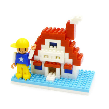 《Nano Block迷你積木》ML-029 新屋入住