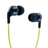 Genius GHP-220X 奢華酷炫內耳抗噪式耳機(綠色)