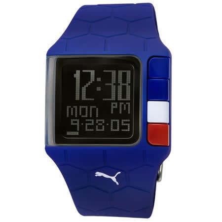 PUMA 世足賽紀念運動錶(藍-A款)