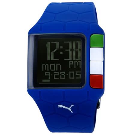 PUMA 世足賽紀念運動錶(藍-B款)