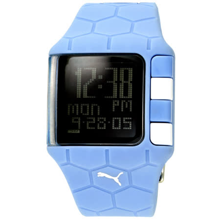 PUMA 世足賽紀念運動錶(淺藍)