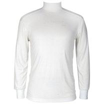 LACOYA 男天絲細紋立領長袖衫(CP946 白/黑兩色)