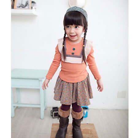 韓國設計製造~活潑亮眼舒適棉上衣~k17588