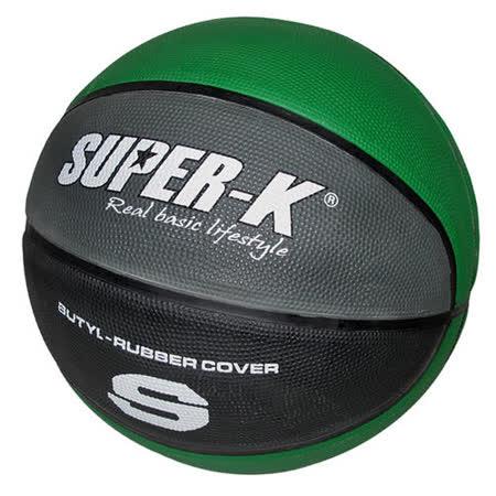 《購犀利》美國品牌【Super-K】7號橡膠籃球SBCF702B