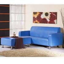 金吉利~無接縫PVC皮L型沙發~三色
