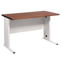 120CM 胡桃木紋色BTH辦公桌,電腦桌(淺灰)(BTH120)