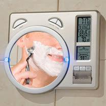 LCD時鐘 溫度計 濕度計 氣象站 萬年曆 鬧鐘