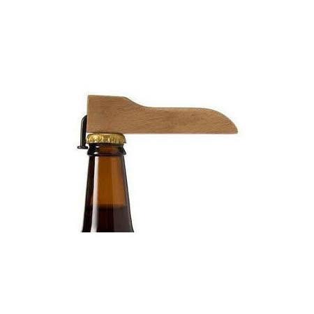 實木環保簡易釘子造型開瓶器