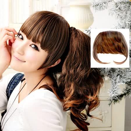 PS Mall╭*修飾小臉款 ㄇ字齊瀏海 瀏海髮片 另售瀏海夾【P012】