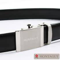 【MONTAGUT】夢特嬌自動扣紳士皮帶75401A