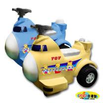 【久達尼】飛機造型電動遙控車R-747 ( 黃 / 藍 )
