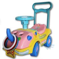 大象助步車 ( 藍 / 粉 )