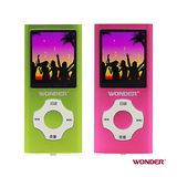 【旺德】WONDER MP4數位隨身聽撥放器 WD-9901V(4GB)