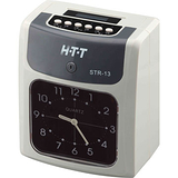 HTT 六欄位雙色帶打卡鐘 STR-13