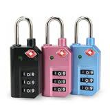 【旅遊首選、旅行用品】LY變色安全密碼海關鎖(一入)