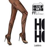 『摩達客』英國進口House of Holland 時尚階梯彈性褲襪