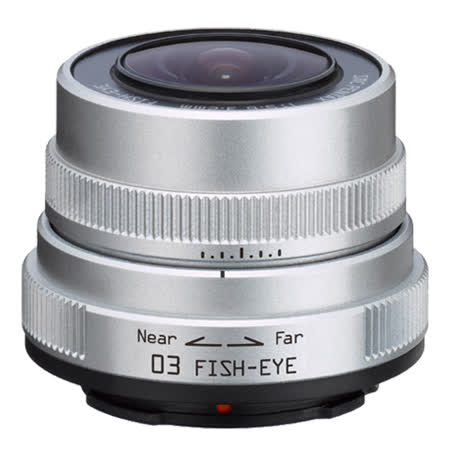 PENTAX Q 03 FISH EYE 3.2mm F5.6魚眼鏡頭(公司貨)